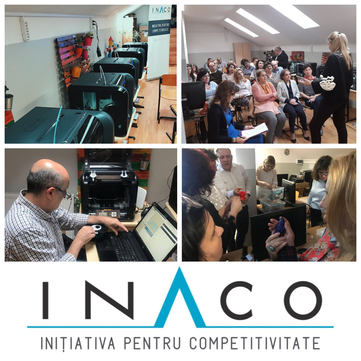 INACO a creat primul laborator inteligent Smart Lab 4.0 din școlile românești