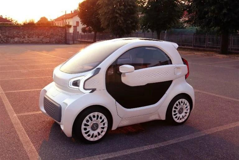 YoYo, mașina electrică imprimată 3D