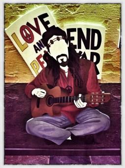Love & Peace; beads & music
