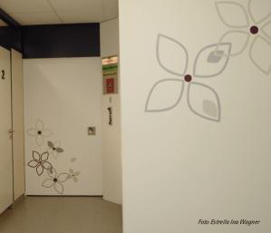 Eingang Stagktür Bestrahlungsraum