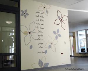 Wandgestaltung Klinik, Krankenhaus