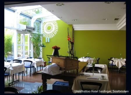 Ansicht Frühstücksraum Hotel Leidinger
