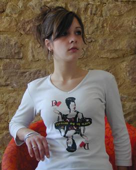 T-Shirt Wilhelmine von Nassau von Saarbrücken