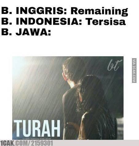 10 17 10 Gambar Meme Lucu 'Bahasa Jawa' ini bikin Kamu Ngakak Lihatnya