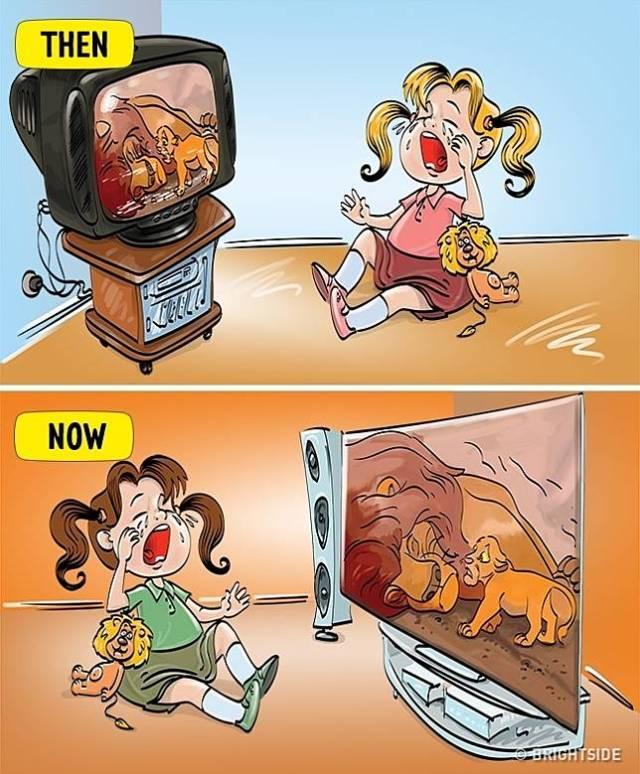 13 2 13 Komik ini Perlihatkan Beda antara anak zaman sekarang dan dulu!