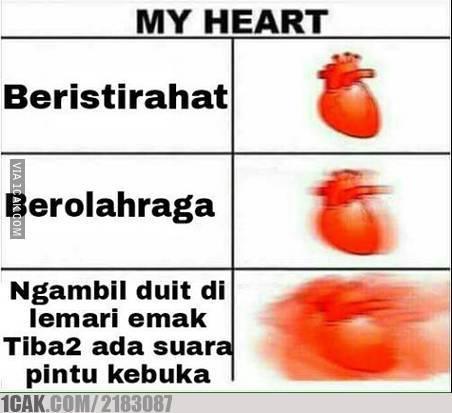 6 17 10 Gambar Meme Kondisi Jantung ini bikin Kamu Ngakak aja Liatnya
