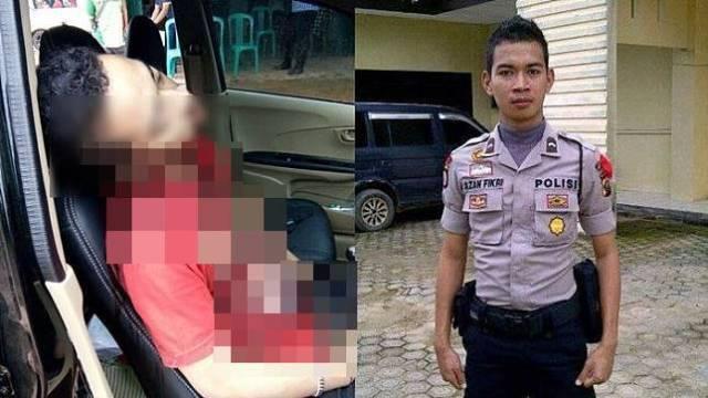 w644 12 Padahal Gak Lama lagi Mau Nikah Polisi ini malah diduga Bunuh diri Gunakan Pistolnya Sendiri di dalam Mobil