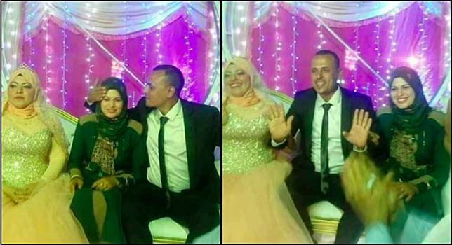 w644 23 Istri Pertama Ikut duduk di Pelaminan pernikahan Suami dengan Istri Muda ini Jadi Viral