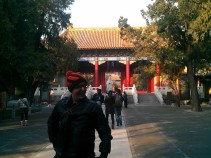 Me being a fashion icon in the Confucius Temple.