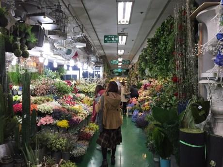 高速ターミナル 花市場