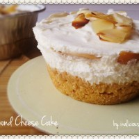 CookingVille: Almond Cheese Cake