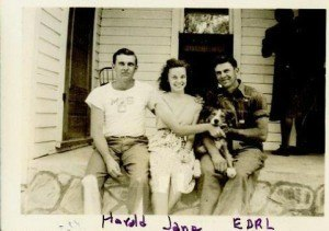 "Photo courtesy of John Lee. ""Earl with Siblings"""