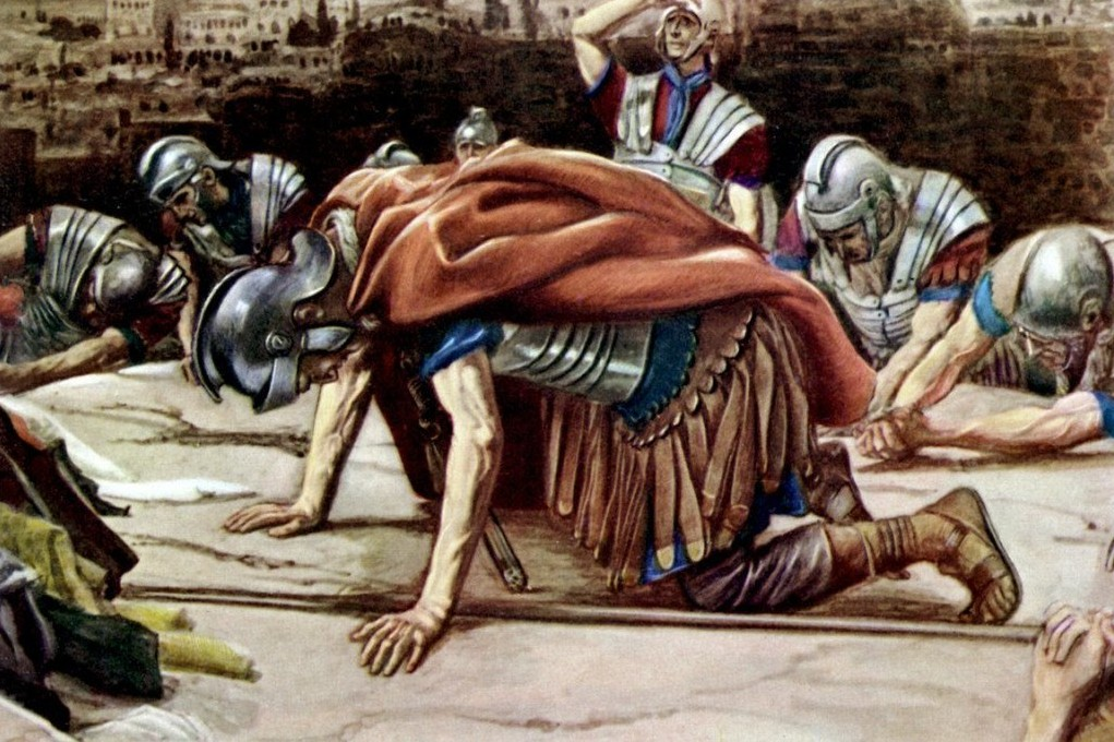 """Featured image for """"Lent: The Suffering Centurion"""""""