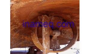 Basic causes of corrosion on ships