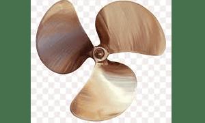 Jenis propeller yang biasa dipakai di marine