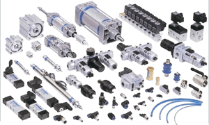 Pneumatic component system
