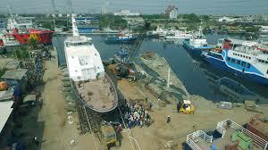 Building dock shipyard