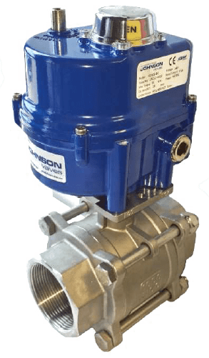 Marine Ball Valve type Electrically Actuated Three-Piece Stainless Steel Ball Valve
