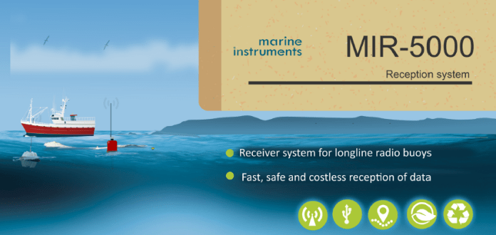 Reception system marine instrument