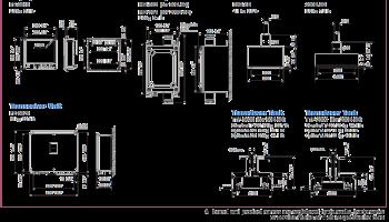 Display Unit, Matching Box, Transducer, Transceiver Unit, Transducer Tank