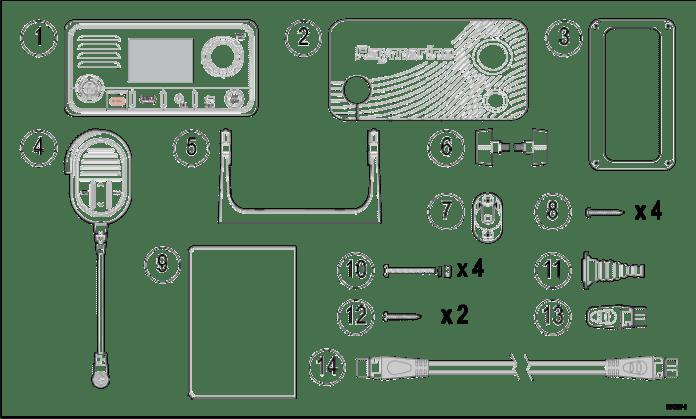 RAY63 Partlist Radio Communication