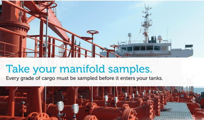 Marine liquid cargo sampling