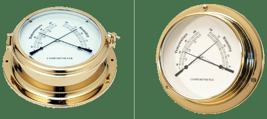 Nautical Thermometer & Hygrometer