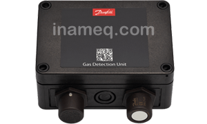Gas detection for industrial refrigeration