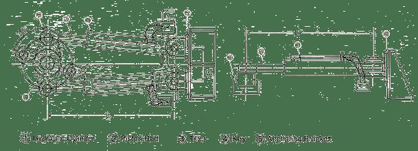 General Arrangement Type Steering Gear
