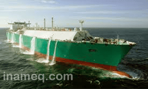 Ballast voyage for LNG carrier
