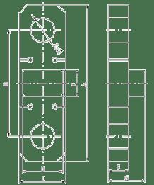 Cargo Gear Dynamic Load Test Equipment Dimensions