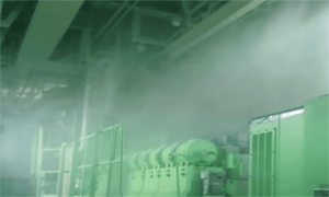 High Pressure Water Mist Fire Fighting System For Ships Works