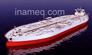 Crude oil washing operation on oil tanker ships