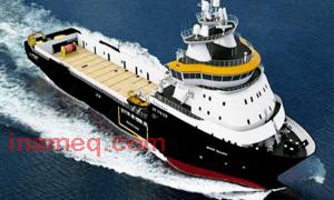 Loudhailer for ship
