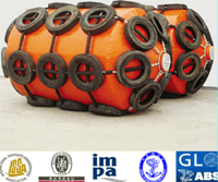 Tire net type polyurethane foam filled marine fender