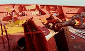 Anchor and chain damage