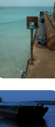2NM Bargesafe Solar Barge Light Application
