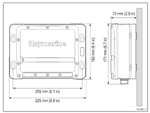 CP200 dimensions