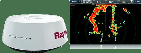Quantum CHIRP Radar