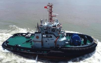 Tugboat delivered