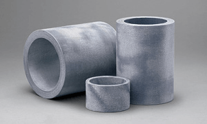 A greaseless composite rudder bushing engineered for high performance