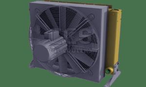 AKG Line A Oil Cooler 400 Volt Fan