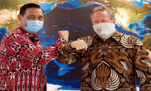 Menko Luhut berharap Indonesia bisa mengakselerasi bauran energi hijau