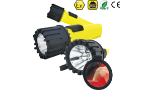 IMPA 792295 Explosion Proof Intrinsically Safe 4AA LED Flashlight EX-5180 with Red Color Filter