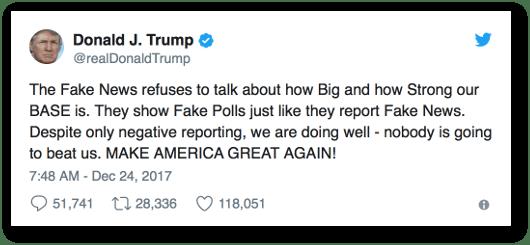 Trump on Fake News