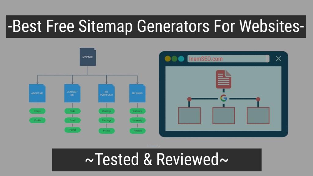 Best Free Sitemap Generators