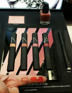 NARS lip covers, NARS Las Vegas, 2018 NARS, NARS Spring Collection