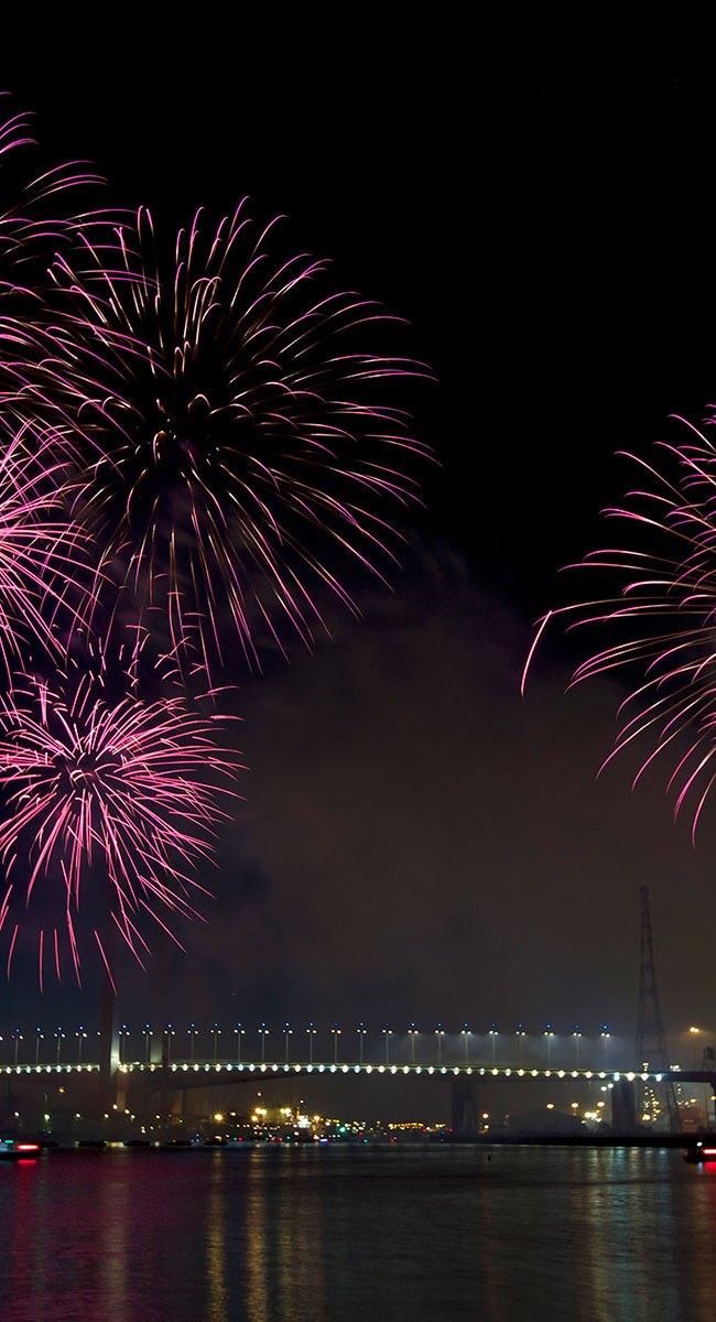 Australia Day Fireworks 2014