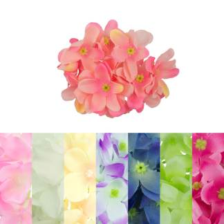 Artificial Hydrangea Flower Heads