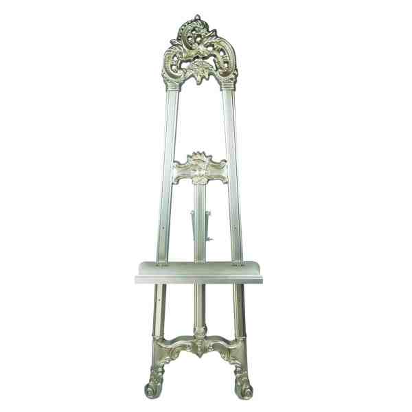 Ornate Display Easel - Silver